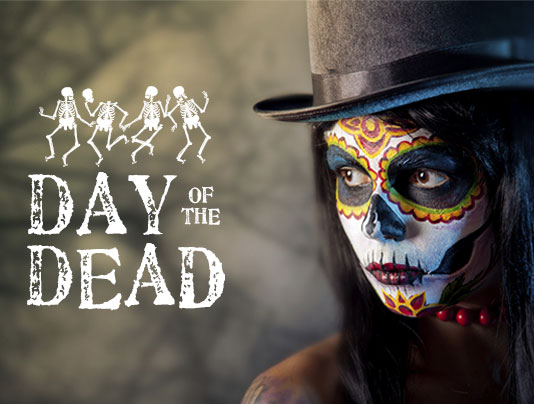 switch up your annual halloween celebrations with a day of the dead party
