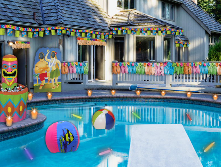 throw the pool party of the summer with these helpful tips