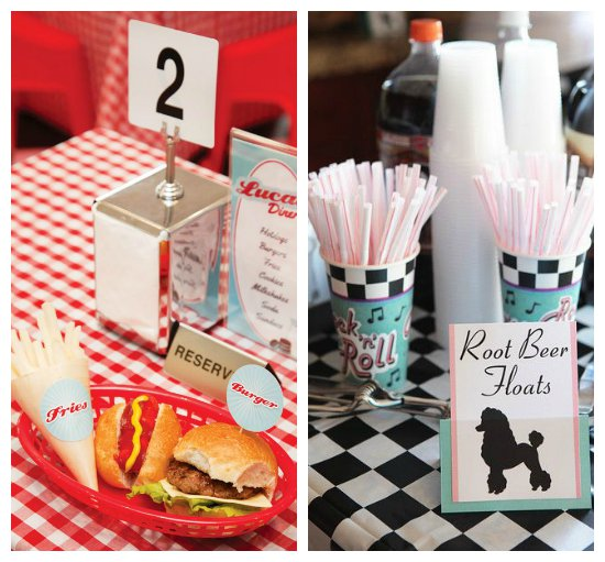 1950s Sock Hop Party Ideas