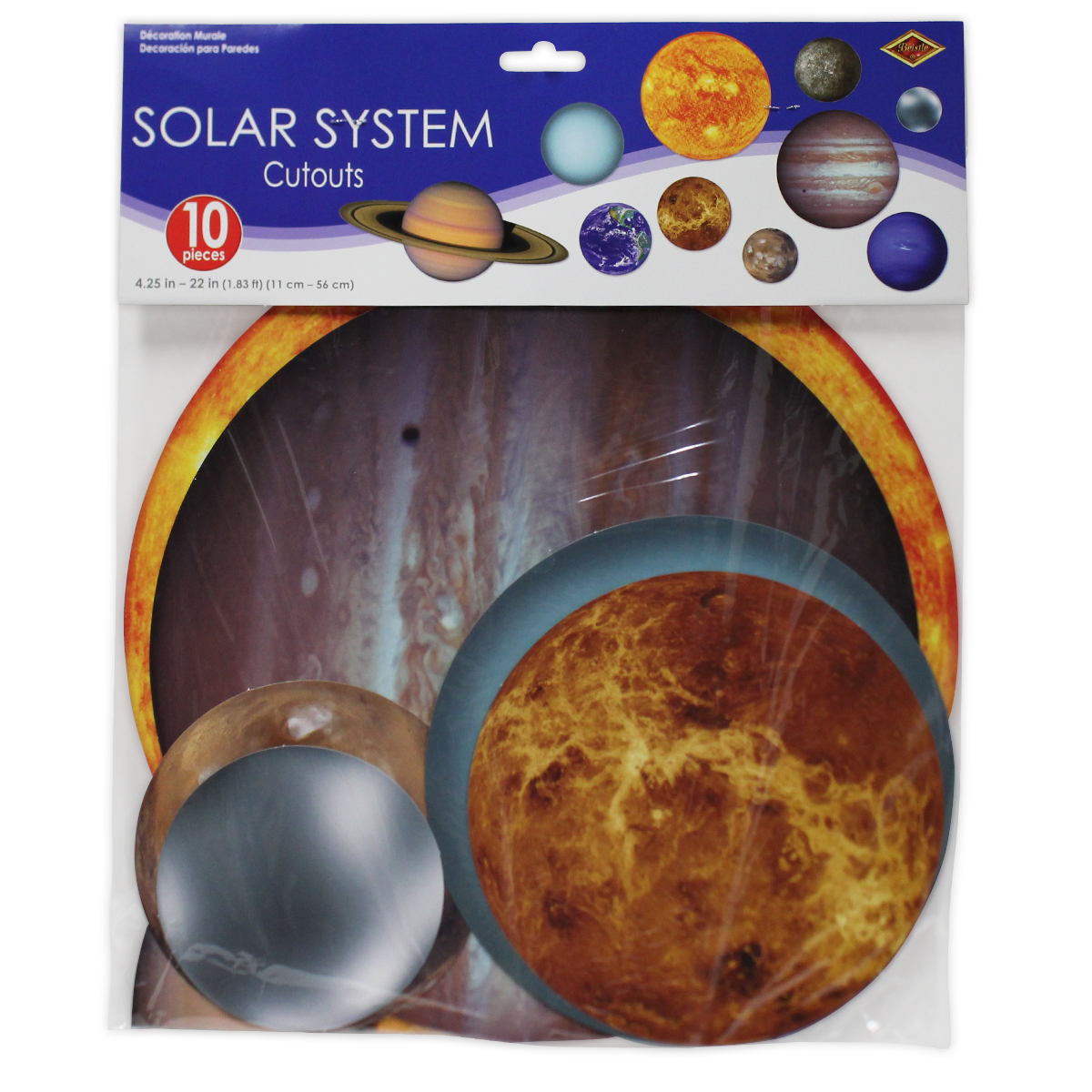 solar system cutouts 10 pack