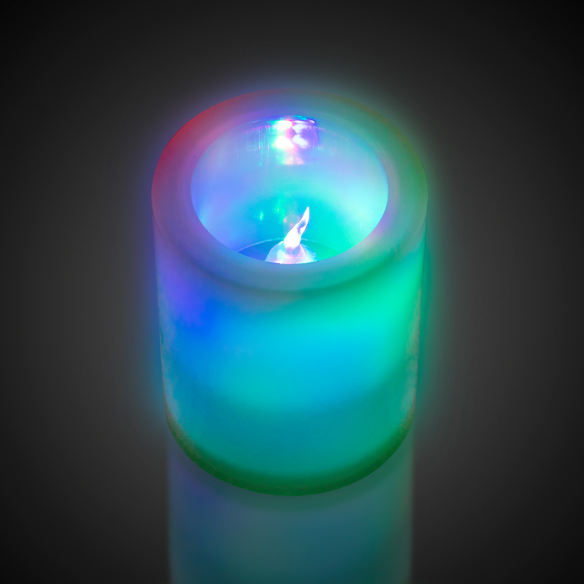 Multi Color Led Flameless Votive Candle