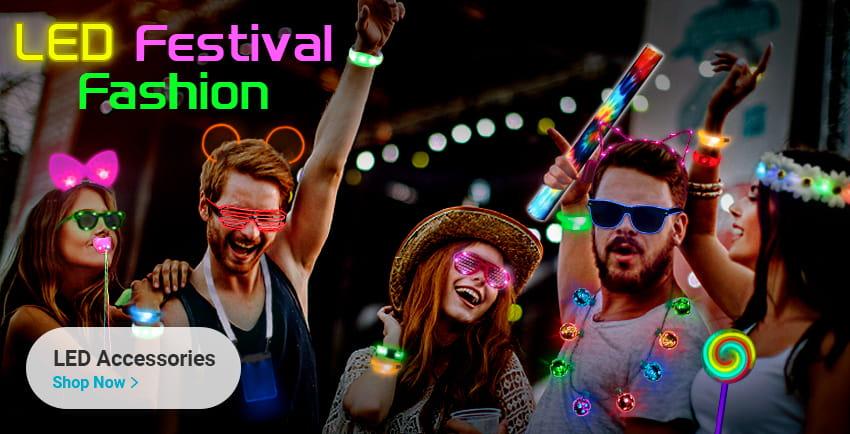 LED Festival Fashion
