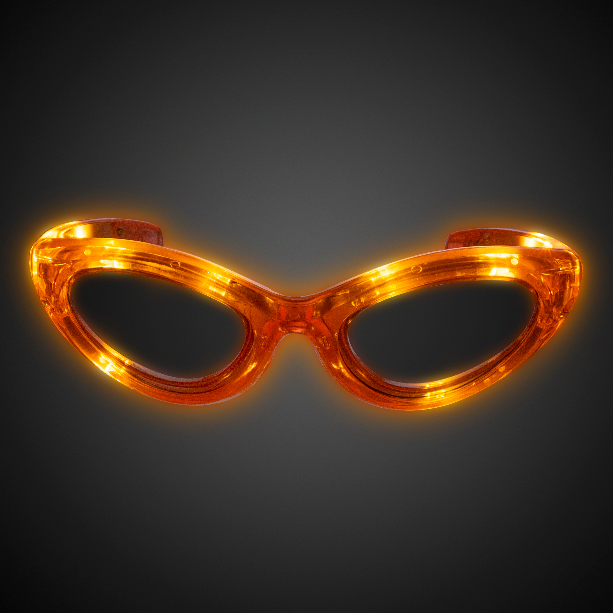 Orange Led Sunglasses