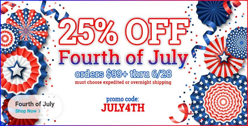 July Fourth Sale