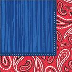 Western Paisley Lunch Napkins by Windy City Novelties PAP1278LUN