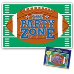 Giant Football Party Sign by Windy City Novelties DEC128689EA