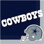 Dallas Cowboys Lunch Napkins 16 Pack by Windy City Novelties PAP2332LUN