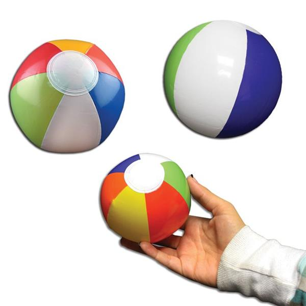 Beach Balls for Sports Birthday Parties Beach Inflatable Basketballs 6 inch