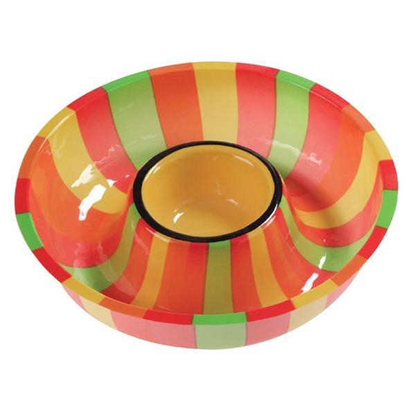 Fiesta Chip Dip Bowl