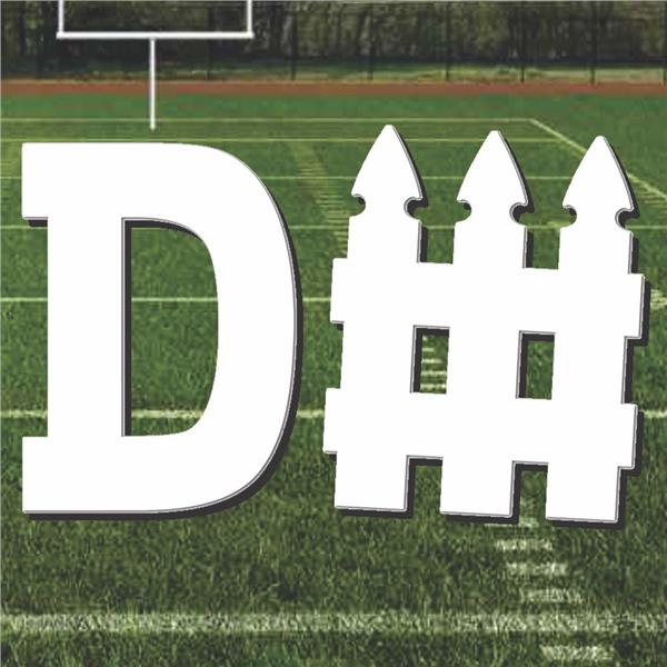 Football D - Fence Cutout by Windy City Novelties DEC54179EA