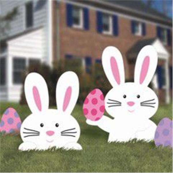 Outdoor Easter Bunny Decorations  Easter Yard Decoration