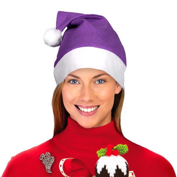 purple santa hats unique santa hats windy city novelties