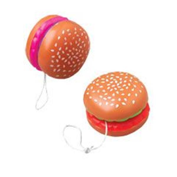 Hamburger Shaped YoYo - 12 Pack by Windy City Novelties YOY020DZ