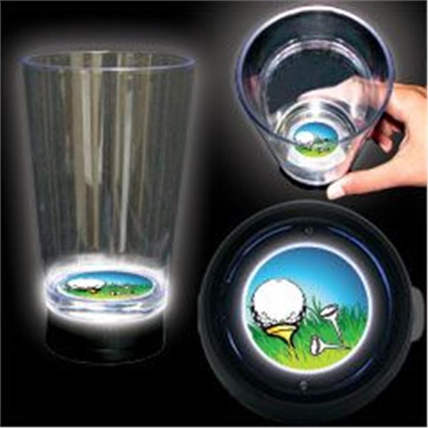 LED Golf Ball Cup - 16oz by Windy City Novelties LOC145EA