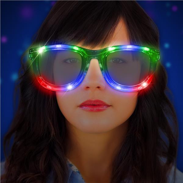 LED Jumbo Eyeglasses by Windy City Novelties LIT763EA