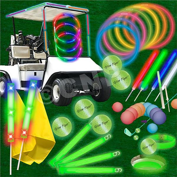 Economy 80 Player Glow Flyer Hole In One Tournament Package by Windy City Novelties GF.HIO