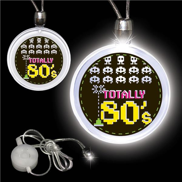 Totally 80's LED and Light - Up Pendant Necklace by Windy City Novelties LUN160EA