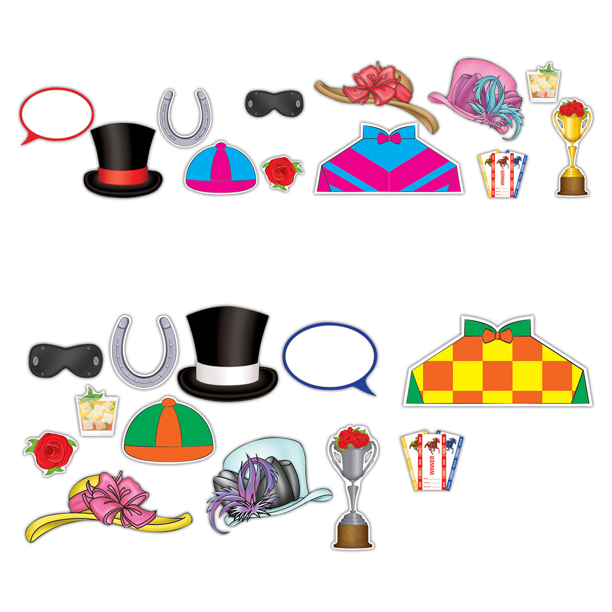 Horse Racing Photo Booth Kit