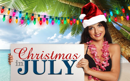 Cool Down From The Summer Heat With A Christmas In July Party